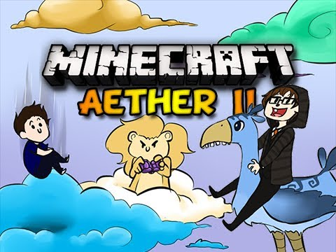 Minecraft Aether II - Ep. 22 w/ Chim, Double, & Clash - BUNNY PENIS (HD)