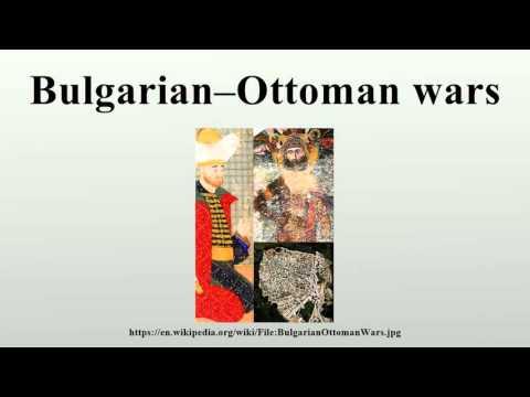 Bulgarian–Ottoman wars