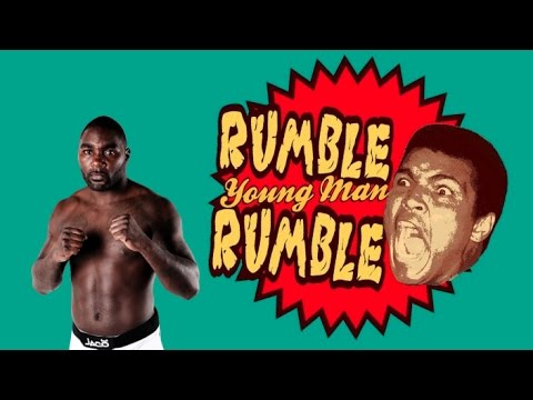 Anthony Johnson: RUMBLE, YOUNG MAN, RUMBLE!