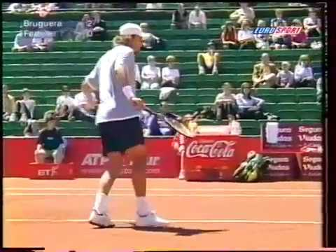 Barcelona 2000 R1 - Federer vs Bruguera (Part 1)