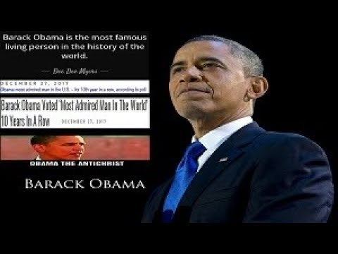 FACT! The Antichrist Barack Obama Set NEW Record! MOST ADMIRED Man @ U.S. & WORLD 10 Years Straight!