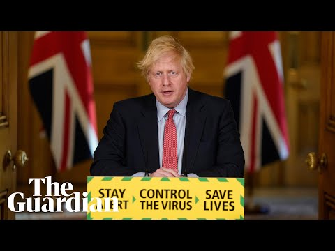 Coronavirus: Boris Johnson holds UK daily briefing – watch live