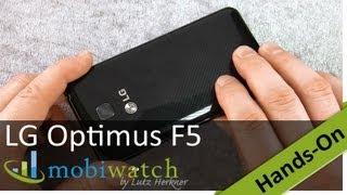 LG Optimus F5 im Hands-on: LTE-Schönling für 350 Euro