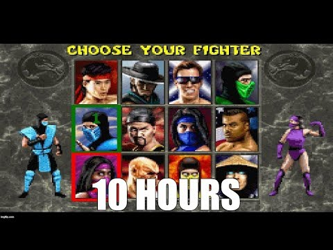 Mortal Kombat 2 - Character Select Theme Extended (SNES) (10 Hours)