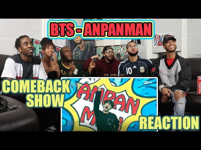 Anpanman Bts Anpanman Bts Comeback Show 180524 Reaction Review