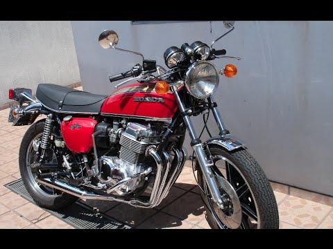 7 Galo Honda Cb 750 Four Youtube