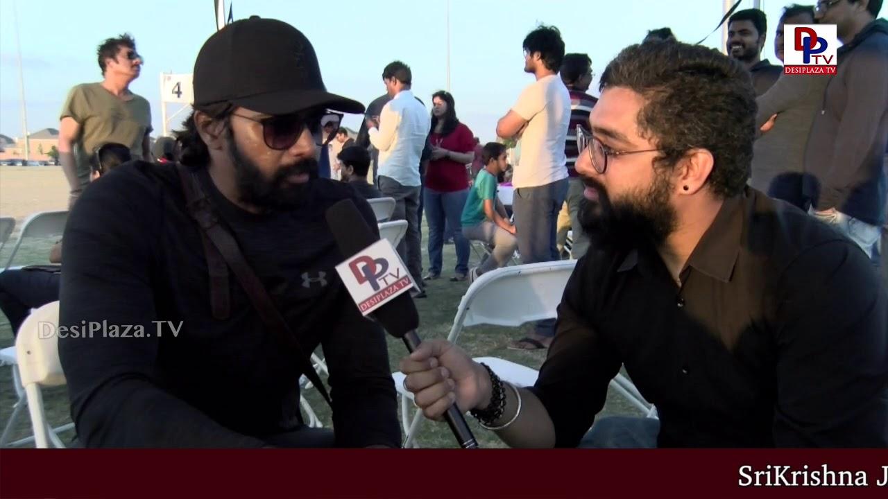 'Andhala Rakshasi' fame Naveen Chandra speaks to DesiplazaTV at Film Actors Cricket in USA