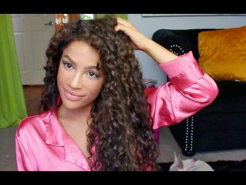 How To Style Long Curly Hair How To Style Curly Hair Curly Hair Routine  Youtube