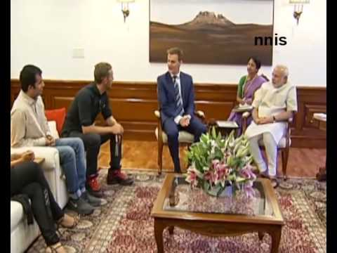 Global Poverty Project Reps Call On Pm Narendra Modi