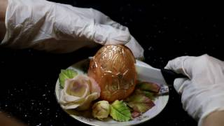 Шоко-желе с мандариновым мармеладом