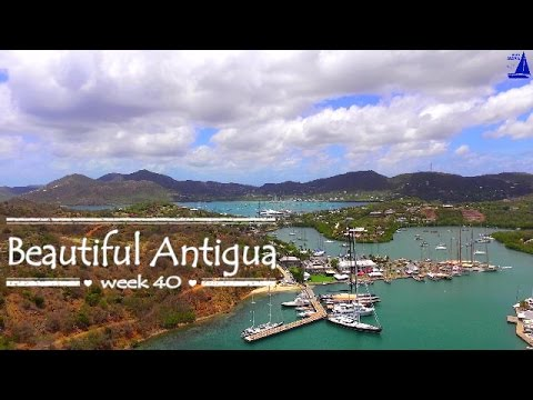 Beautiful Antigua by Sailing JAEKA, week 40