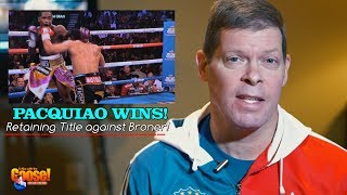 PACQUIAO WINS against BRONER : Post Fight Analysis