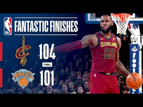 Thumbnail: The Cleveland Cavaliers Comeback From 23 Points Down To Beat The Knicks On the Road