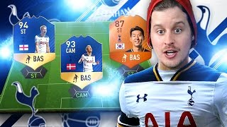 we got them tots kane and eriksen team of the season trio fut champs squad fifa 17 ultimate team