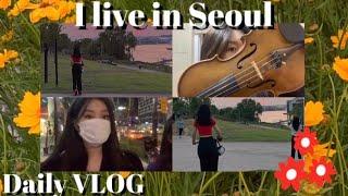 [VLOG] 나의 서울살이 | 바이올린 전공생 일상 브이로그 / 언박싱 /일상 브이로그 / 짧은 자취생활/ 자취 브이로그 / 바이올린 / 먹방 브이로그 / 친구들과 신나는 하루