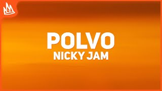 Nicky Jam x Myke Towers - Polvo (Letra)