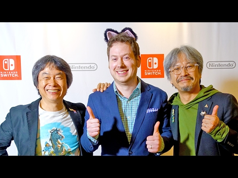 Interview with Shigeru Miyamoto and Eiji Aonuma! The Legend of Zelda: Breath of the Wild!