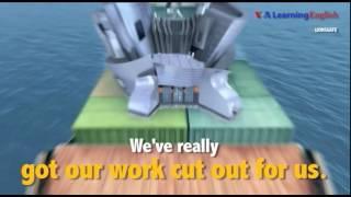 Английский как в кино - «got our work cut out for us» - хорошенько попотеть, хорошо поработать