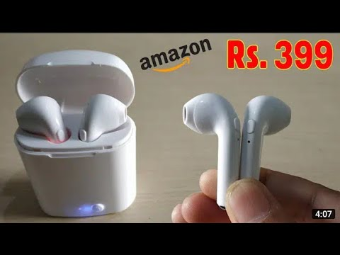 Apple airpod clone under 300...... Unboxing and review
