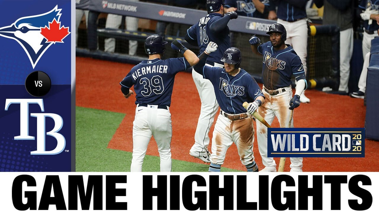 Hunter Renfroe's slam leads Rays to ALDS berth | Blue Jays-Rays Game Highlights 9/30/20