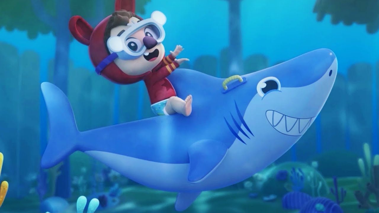 Baby Shark | Lea and Pop Baby Songs | Best Dance Song for KIDS