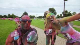 Run or Dye™ Official Niagara Falls 2013 video