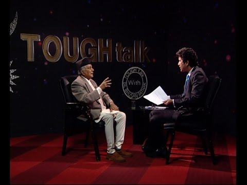 टफ टकमा नेता रामचन्द्र पौडेल   - TOUGH talk with Ramchandra Poudel
