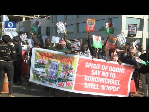 Residents Protest Alleged Abandonment Of Ogoni Clean-Up Project