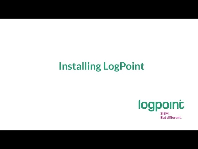 How To: Install LogPoint on a virtual machine [step 2]