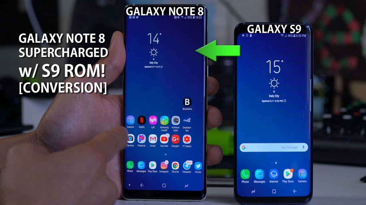 Galaxy Note 8 SUPERCHARGED w/ S9 ROM Conversion!