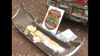 Após denuncia anônima Polícia Federal fez interdição de carregamento de drogas na BR 494