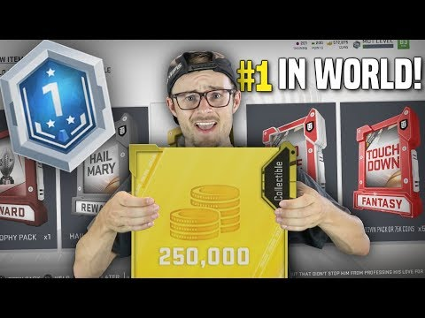 OPENING INSANE REWARDS FROM #1 RANKED IN THE WORLD SOLO BATTLES!! + TIPS - Madden 19