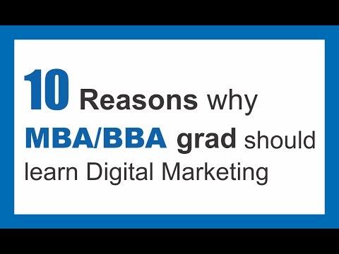 10 Reasons why MBA/BBA Grad should learn Digital Marketing | Digital nest