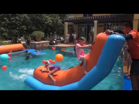 Bangkok Birthday party - most fun pool party for kids