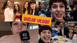 Delhi Vlog     Golgappas, Sarojini Nagar & Awards!