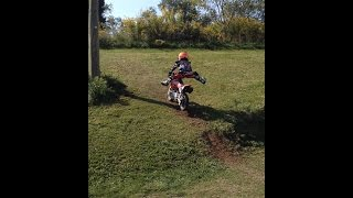 Dirt Bike Jumping! Vlogtober day 12 Thumbnail