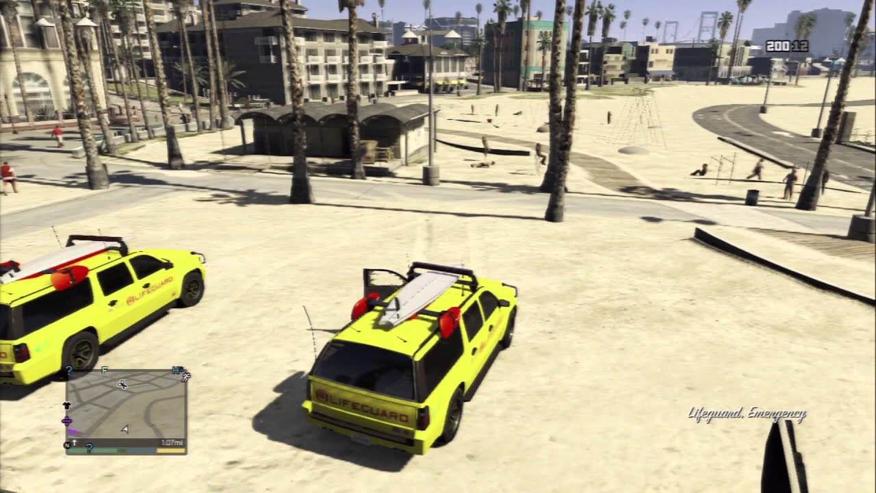 gta 5 lifeguard car youtube. Black Bedroom Furniture Sets. Home Design Ideas