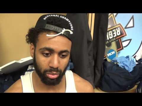 Elite 8 Kentucky UNC Joel Berry Interview
