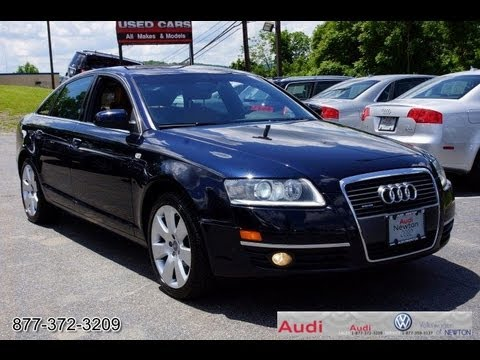 2006 audi a6 4 2 quattro sedan youtube. Black Bedroom Furniture Sets. Home Design Ideas