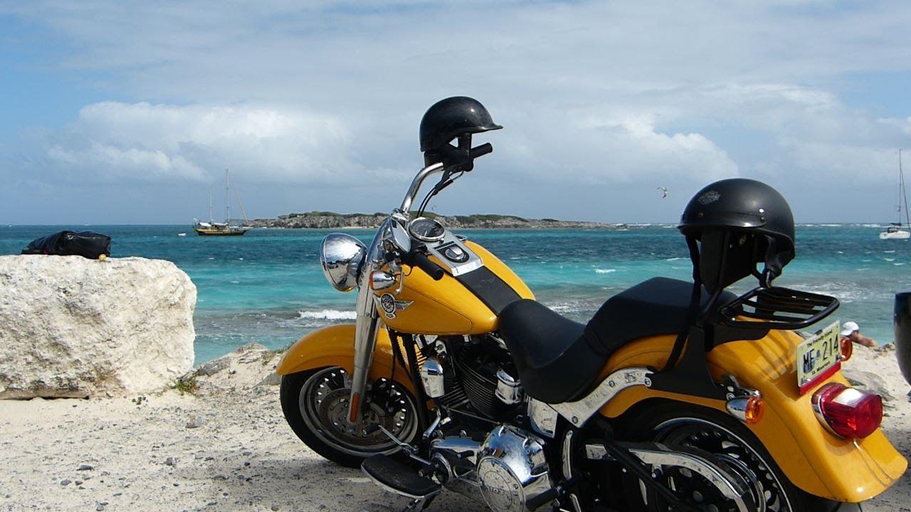 St Maarten Saint Martin Harley Davidson Maho Beach Aida