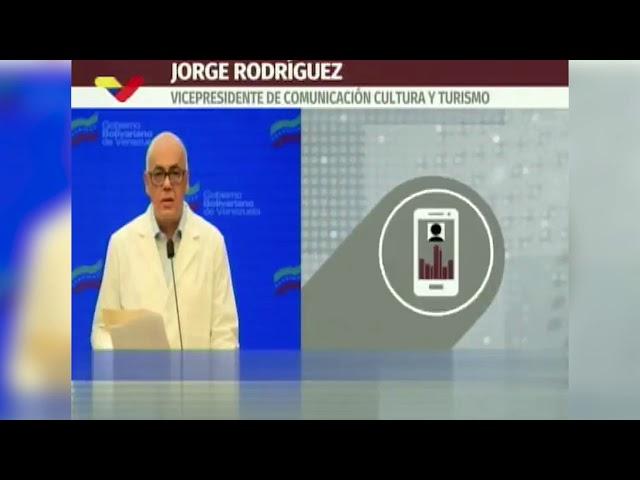 Jorge Rodríguez reporta cuatro muertes y 287 casos de COVID-19 este #12Jul
