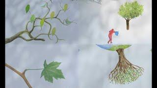 나무의 시간에 관한 독특한 애니메이션  [영화리뷰 스토…
