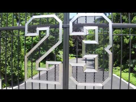 Michael Jordan's Home - Front Gate - Highland Park, Illinois
