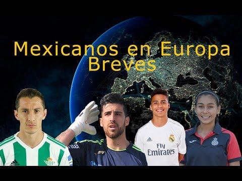 MEXICANOS EN EUROPA BREVES