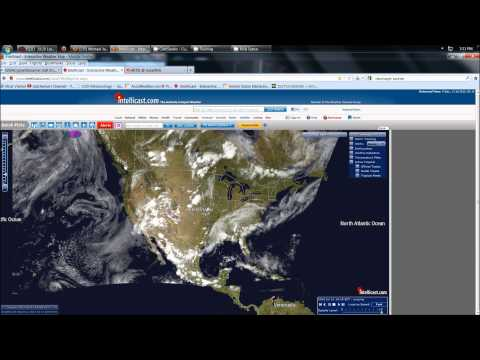 7/12/2012 -- Solar Storm incoming + Severe weather and Earthquake update