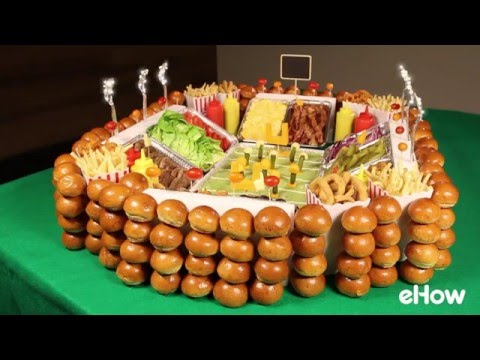 How To Make A Gourmet Slider Bar Snack Stadium For The Super Bowl