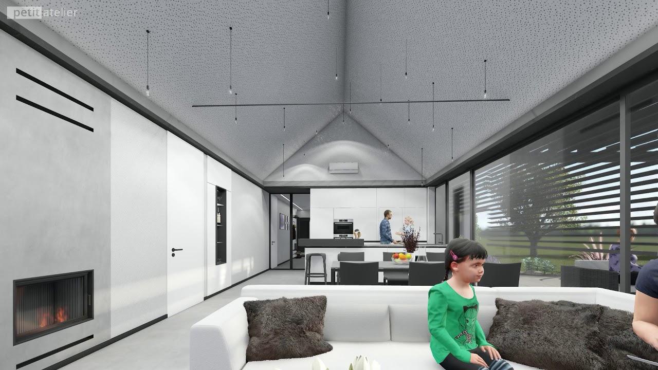 Interiér rodinného domu v Bystřici