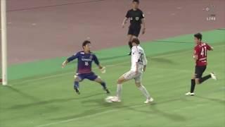 長沢 駿(G大阪)が右サイドからの折り返しを押し込み、前半だけで自身...