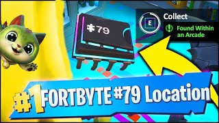 FORTBYTE 79 Found Within an Arcade Location - Fortnite Daily Challenge Rewards
