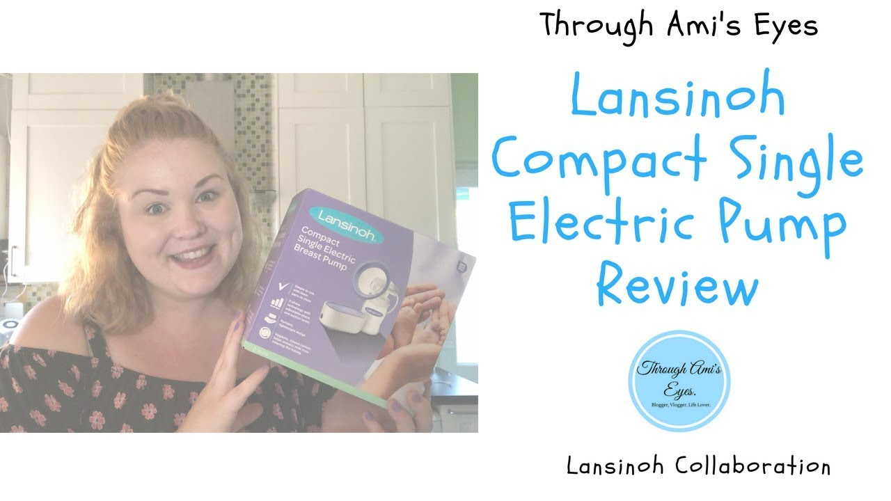 Lansinoh Compact Single Electric Breast Pump Review Youtube
